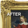 Frame restoration after treatment